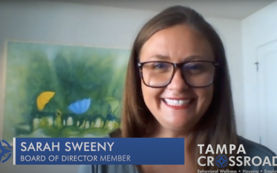 Board Director, Sarah Sweeny, shares her story!