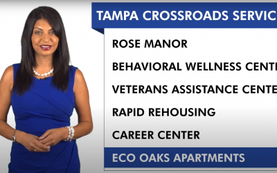 Tampa Crossroads Featured on Share Your Story with Sarina Fazan